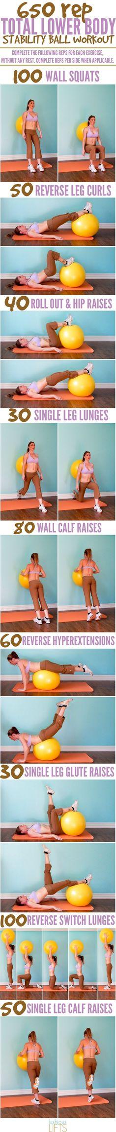 7 mejores entrenamientos de balón de estabilidad para cada parte de su cuerpo