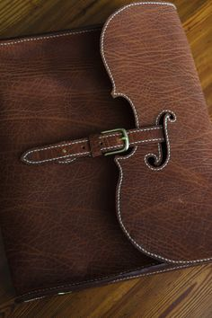 Violin leather bag