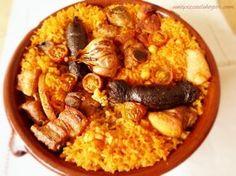 Receta Arroz al Horno Valenciano Avocado Recipes, Rice Recipes, Great Recipes, Cooking Recipes, Favorite Recipes, Quinoa, Best Spanish Food, Spanish Kitchen, Good Food