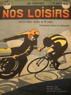 Vintage cycle poster