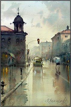 Dusan Djukaric     Watercolor !!