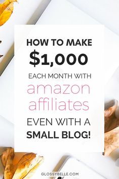 Are you stuck earning pennies from the Amazon Affiliates program? Learn the strategies you need to go from $0 to earning over $1000 each month with Amazon Affiliates even if your blog has less than 10,000 page views a month! This is an affiliate link. | make money online | how to make money online | affiliate marketing | passive income | blogging tips | earn passive income | earn money online | make extra money | amazon affiliate marketing
