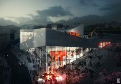 3XN - Molde, NO - Museum by doug and wolf, via Flickr