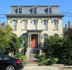 Handsome home in Petersburg, Virginia's historic district.