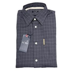 ☆☆☆☆SCONTATISSIMA 50%  camicia ARMANI JEANS FANTASIA QUADRI camicie uomo shirt men, http://www.amazon.it/dp/B01CIN4KLG/ref=cm_sw_r_pi_awdl_RweuxbRNKP058