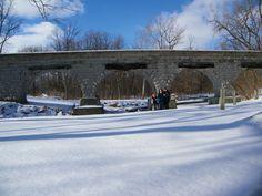 Five Arch Bridge, Avon, New York  Photo: James L. Root