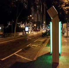 Enel - Endesa's Fast Electric Charger for electric vehicle close to Sagrada Familia in Barcelona