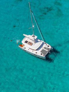Lagoon 42 sailing Greese