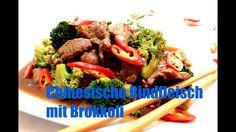 Chinesische Rindfleisch mit Brokkoli Rezept
