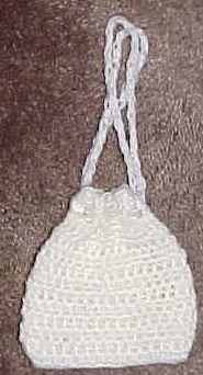 DRAWSTRING COIN PURSE Crochet Pattern - Free Crochet Pattern Courtesy of Crochetnmore.com