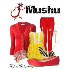 Mushu disney outfit