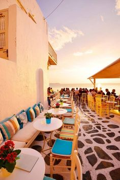 Little Venice, Mykonos, Greece #Mykonos #travel Greece  http;//www.Mykonos-Dreams.tumblir.com