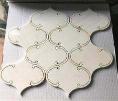 Arabesque Tile Backsplash, Mosaic Tiles, Mosaics, Kitchen Mosaic, Kitchen Backsplash, Kitchen Tile Inspiration, Turkish Marble, Floating Lanterns, Mosaic Designs