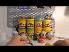 6 kinder surprise minyonlar cars süpriz yumurta mashems justice leauge