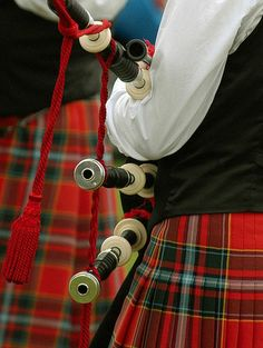 Tartan,  bagpipes, kilts ...Loved it all! lived in Scotland for 3 years ~ great place!