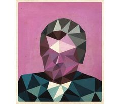 I want this on my wall. Polyguy 2 by David Murry $60
