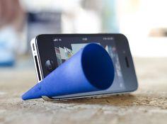 Bugle - iPhone Amp by curvecreative on Shapeways