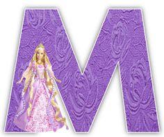 Alfabeto de Barbie Princesa. | Oh my Alfabetos!