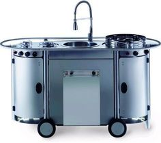 10 Best portable kitchens that blend smart functionality with elegance :http://www.hometone.com/10-best-portable-kitchens-that-blend-smart-functionality-with-elegance.html