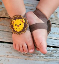 db95c3872051a1 Baby Barefoot Sandals by LovelyLiliesBoutique