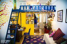 momento inspiração: a casinha colorida da @Flavia Rubim! a gente amou o indoor que o RIOetc por lá