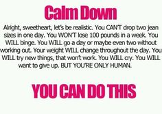 Weight Loss Motivation – Be Realistic