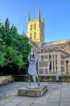 Southwark Cathedral, London UK.  #London #SouthwarkCathedral #Cathedral #Church #VisitLondon #LondonCity #TouristDestination #Architecture #City #LondonBridge #City #LondonCity #WideAngle #ILoveLondon #London #Postcard #uk #view #views  #urbanphotography #colorful #london_only #londoner #londontown #londonstyle #londonist #londondays #cities #travel #travelphoto #tourism #lovetravel #TravelPhotography #BeautifulDestinations #LondonPostcard Southwark Cathedral, Cathedral Church, London Bridge, London City, Urban Photography, Travel Photography, London Postcard, Wide Angle, Statue Of Liberty