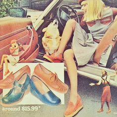 1970s Shoe Advertisement for Hollandia | by Bess Georgette