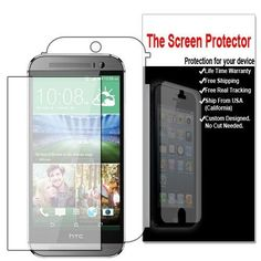 HD Clear Front+Back FULL BODY Screen Protector Guard Skin For HTC ONE M8 (2014) #UnbrandedGeneric