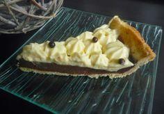 Papilles on/off: Tarte façon tiramisu (ganache au chocolat café et chantilly au mascarpone) au thermomix ou sans