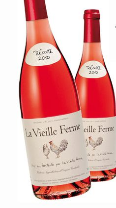 "La Vieille Ferme Rosé 2011  ""This deep pink rose' sports aromas of strawberries with a soft floral note (maybe carnations).  Flavors of ripe berries and cherries with a dry, mineral finish. Deliciously dry and fruity at the same time.  Perfect as a summer sipper!""          Price:  $6.99"