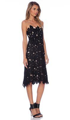 STONE_COLD_FOX Tennessee Dress in Black | REVOLVE