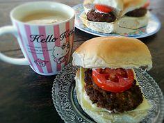 Vegan Burger Hamburger, Vegan, Cooking, Ethnic Recipes, How To Make, Food, Kitchen, Essen, Burgers