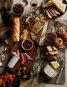 A platter of fine goods.