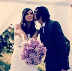 Kellin Quinn's wedding :3 I just really like this pic of them!