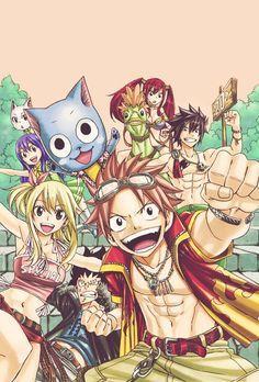 Fairy Tail manga - Self Manga Fairy Tail, Arte Fairy Tail, Fairy Tail Gray, Fairy Tail Guild, Fairy Tail Ships, Fairy Tail Couples, Fairy Tail Family, Erza Scarlet, Natsu Y Lucy