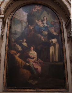 Palermo Madonna con Santi di A. Manno CHIESA DI SANTA MARIA DELLA PIETA'