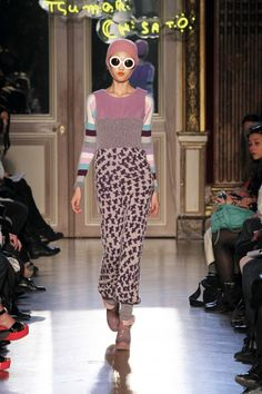Tsumori Chisato, clothing designer.