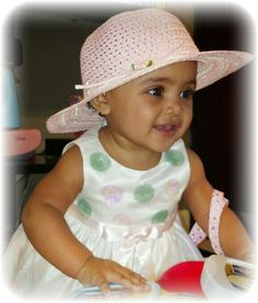 Jasmine on her 1st Easter! My beautiful mixed baby
