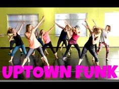 """UPTOWN FUNK"" - Choreo by Kelsi for Club FITz - YouTube"