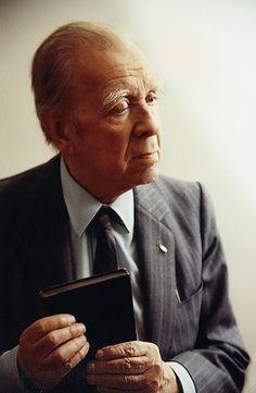 Borges todo el año: Jorge Luis Borges: Sagrada inocencia de un sueño - Retrato de Jorge Luis Borges ©Amanda Ortega