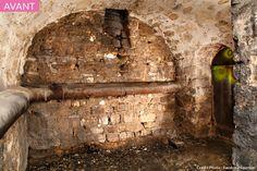cave voûtée avant aménagement