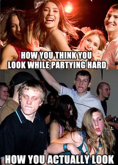 The truth about partying