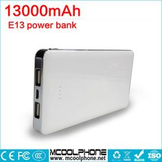 Power Bank 13000mAh External Battery Portable Mobile Power Bank Dual Output Charger for Xiaomi MI Huawei Meizu iPhones,iPad //Price: $US $18.98 & FREE Shipping //     #samsung