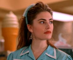 Shelly Johnson. Abused young wife of Leo, waitress at Norma's diner, secret lover of Bobby Briggs.