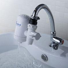 Cerámica filtro de agua del grifo de carbón activado purificador de agua potable