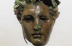 El Prado recupera una cabeza de bronce del rey Demetrio I, sucesor de Alejandro Magno