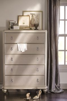 Nice Super Glam Chest From The Serena Collection Only At Value City Furniture!