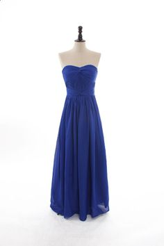 Strapless nice knotted top chiffon dress