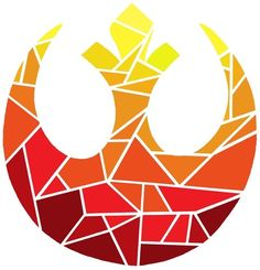 Star Wars Rebel Alliance Sunset Art Print